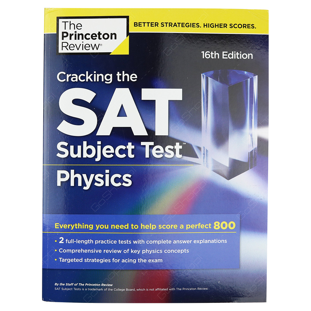 Cracking The SAT Physics Subject Test 16th Edition