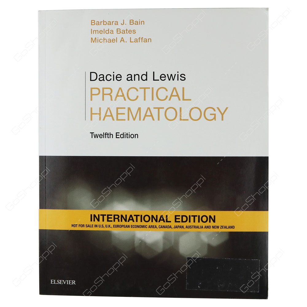 Dacie And Lewis Practical Haematology International Edition By Barbara Jane Bain