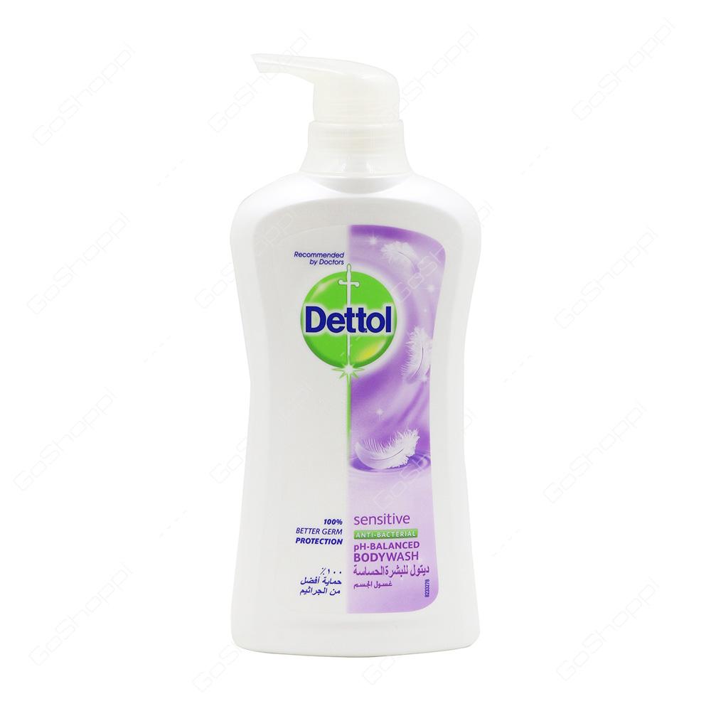 Dettol Sensitive Anti Bacterial Body Wash 500 Ml Buy Online Detol Bodywash