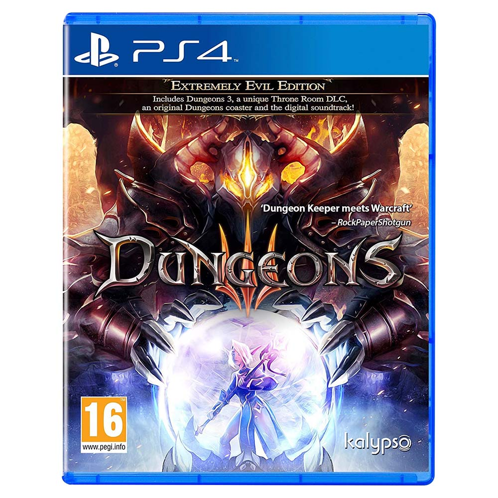 Dungeons III Extremely Evil Edition PS4 - CD17335