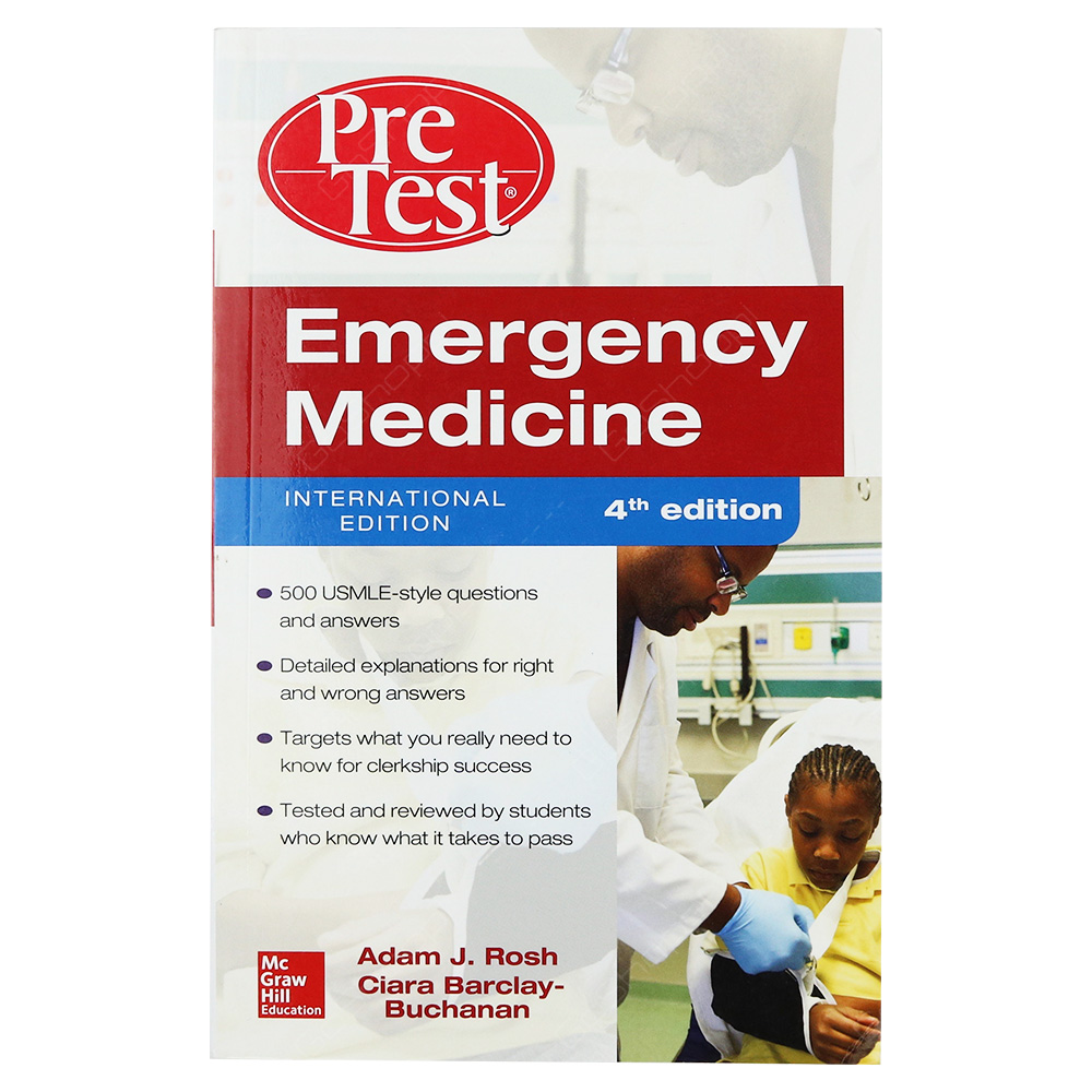 Emergency Medicine - PreTest Self-Assessment And Review 4th Edition
