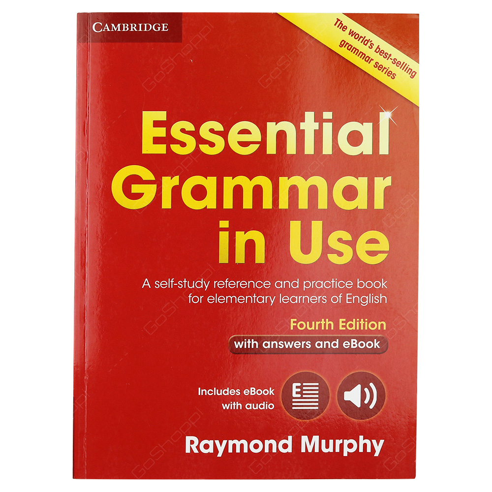 Essential Grammar In Use Book With Answers And Interactive eBook 4th Edition