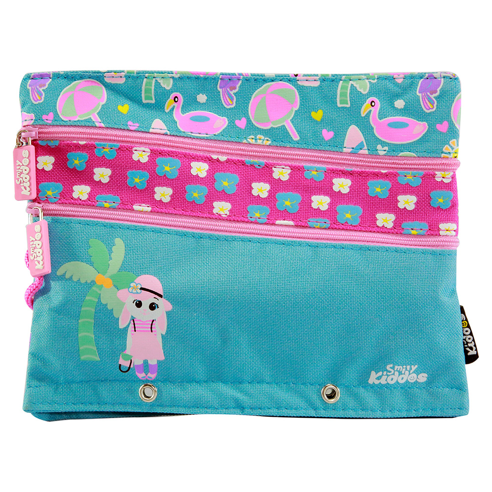 Fancy A5 Pencil Case Blue - Light Blue