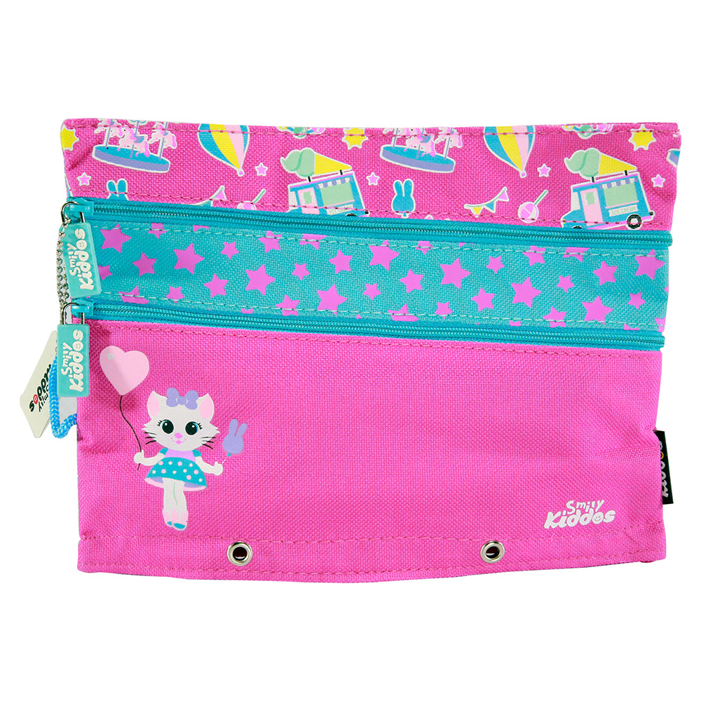 Fancy A5 Pencil Case Pink - Pink