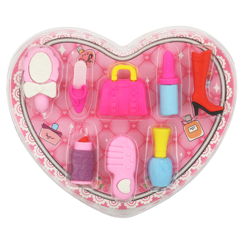 Fancy Cosmetic Eraser Set