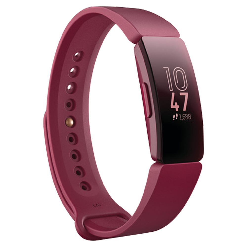 Fitbit Inspire Fitness Tracker Sangria - FB412BYBY