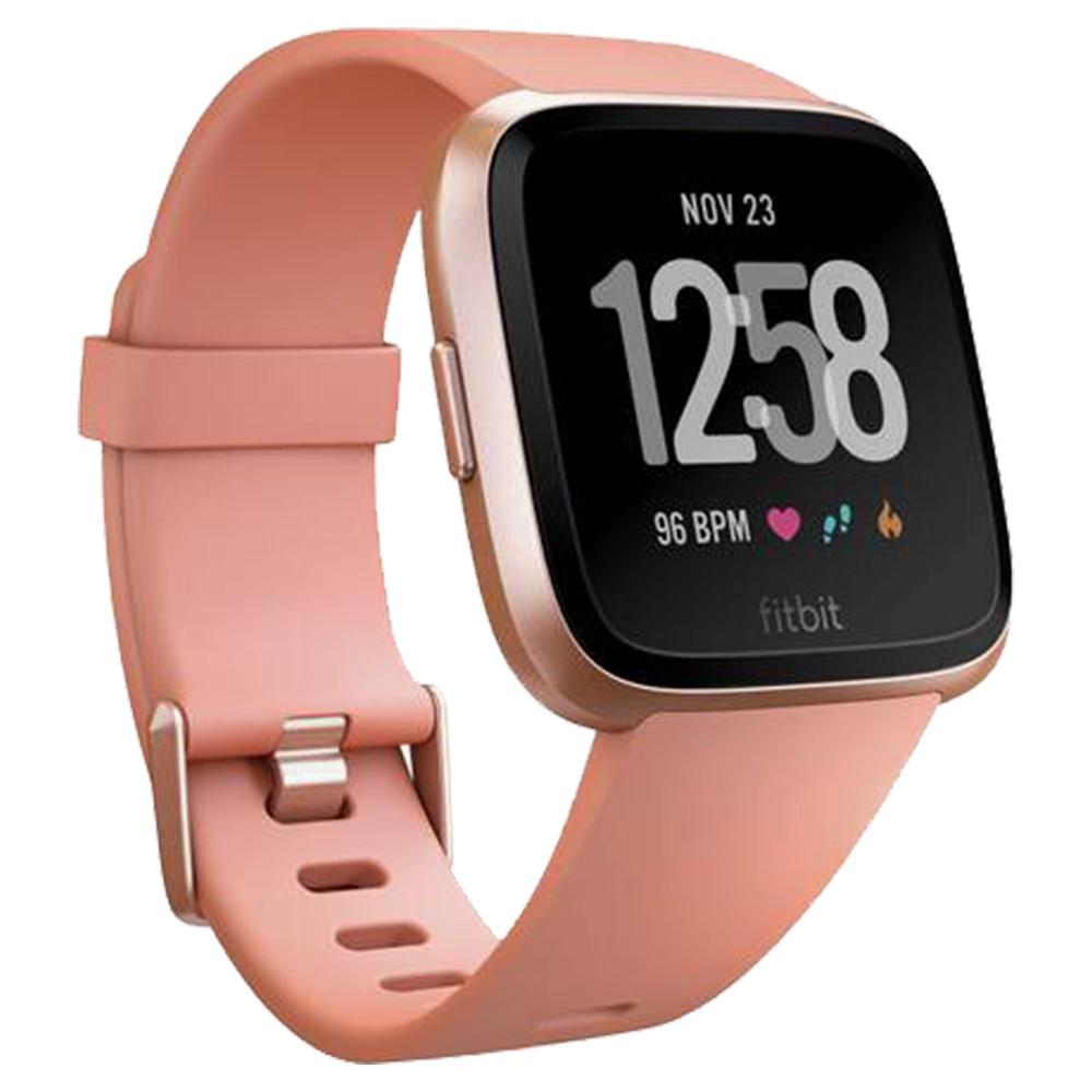 Fitbit Versa FB505RGPK-EU Smart Watch - Peach-Rose Gold