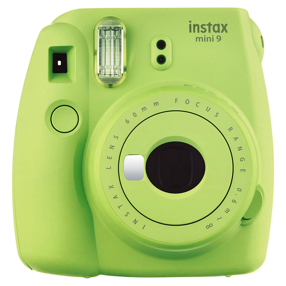 Fuji Instax Mini 9 Compact Instant Camera - Lime Green - INSTAXMINI9-GN