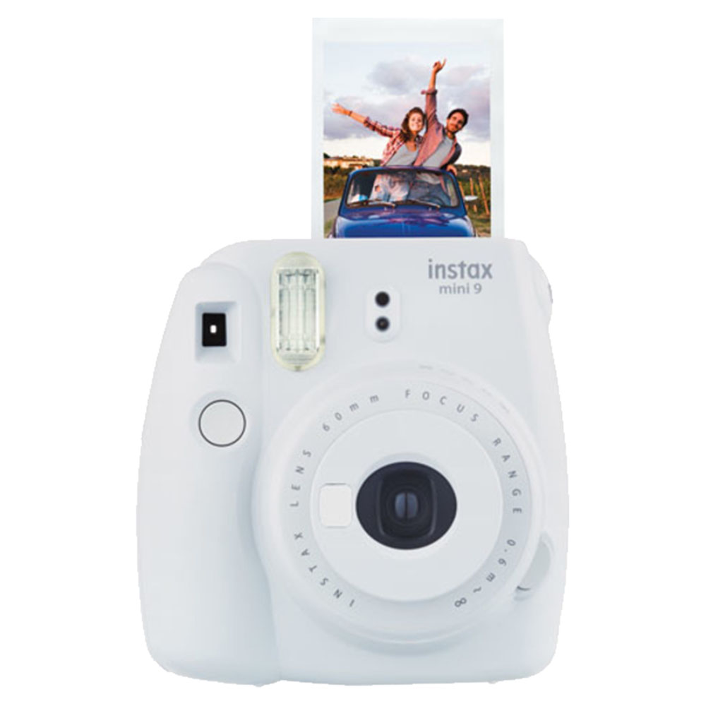 Fuji Instax Mini 9 Smoky Camera - Smoky White - INSTAXMINI9-WH