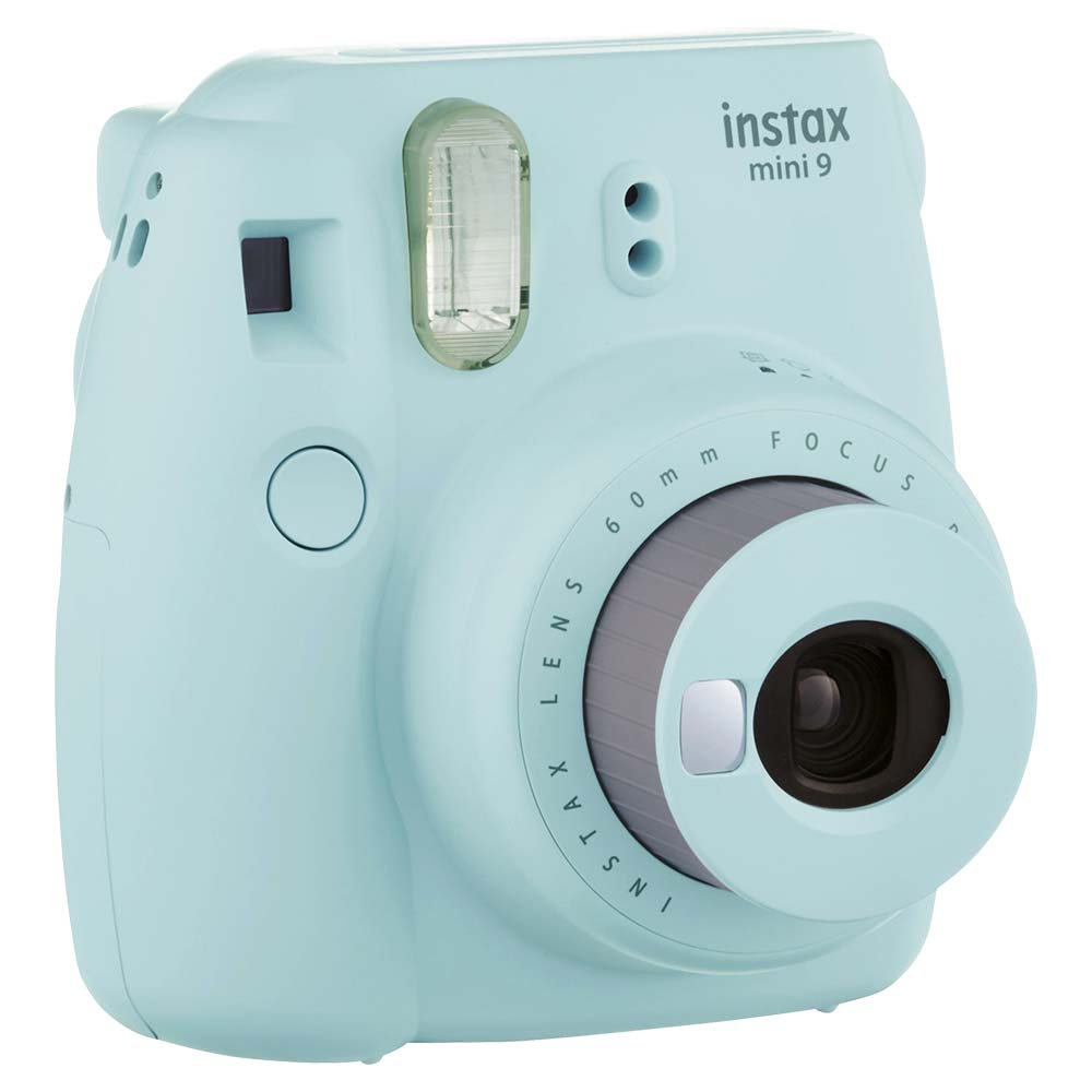 Fujifilm Instax Mini 9 Instant Camera - Ice Blue - INSTAXMINI9-BL