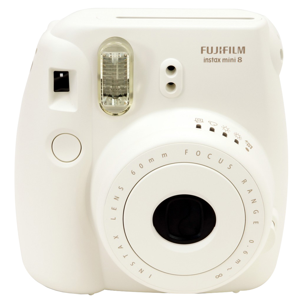 Fujifilm Instax Mini8  Digital Camera - White