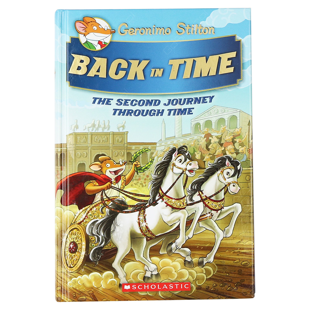 Geronimo Stilton Special Edition - Back In Time - The Second Journey Through Time Book 2