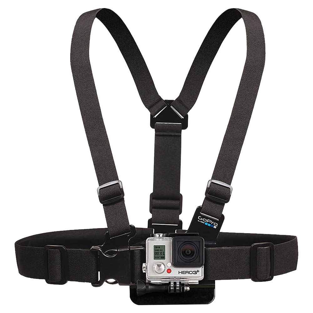 GoPro Chesty Performance Chest Mount Black - G02GCHM30E