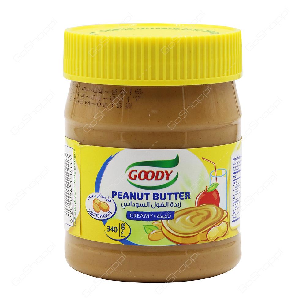 adfe7f30d2d9 Goody Peanut Butter Creamy 340 g - Buy Online