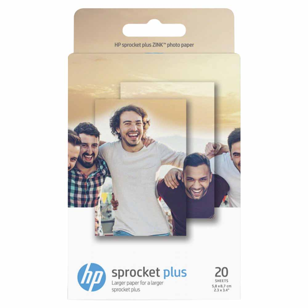 HP 2LY74A Zink Photo Paper 20 Sheets