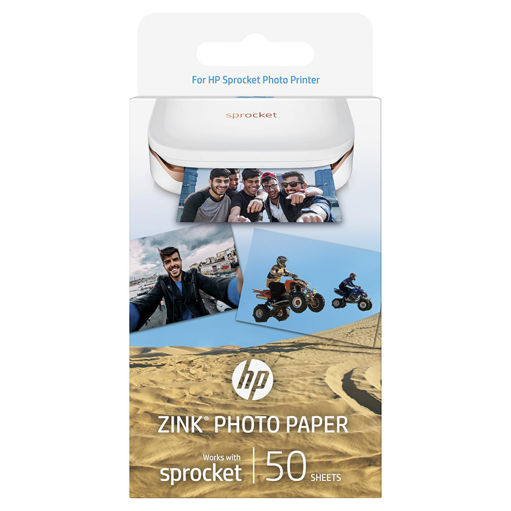 HP Zink Photo Paper 50 Sheets - 1RF43A