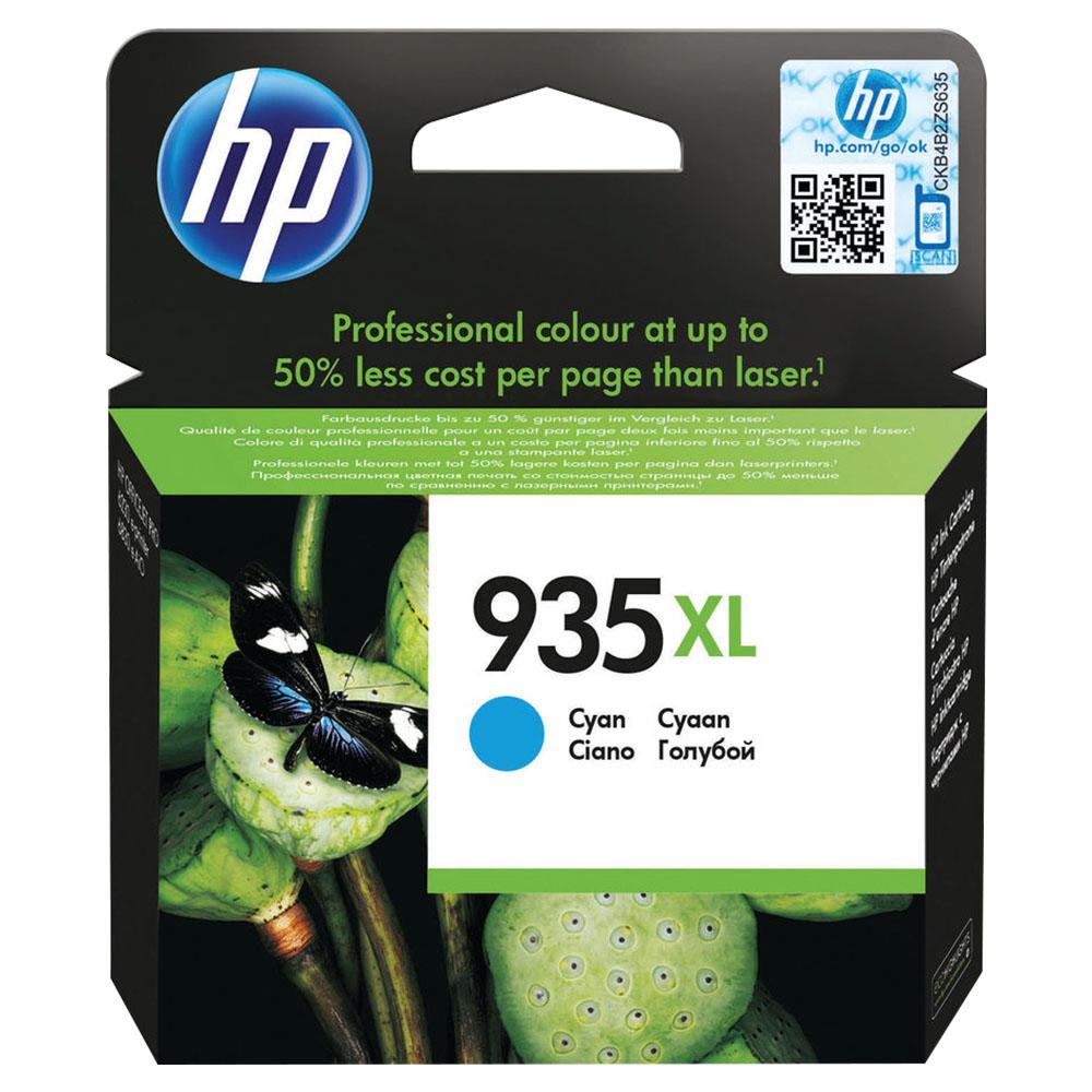 HP  935XL Cyan Original Ink Catridge - C2P24AE 40g