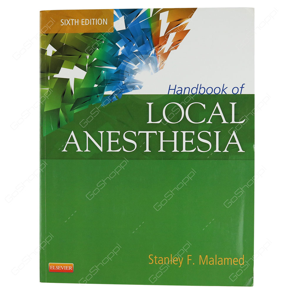 Handbook Of Local Anesthesia Book And DVD Package By Stanley F. Malamed