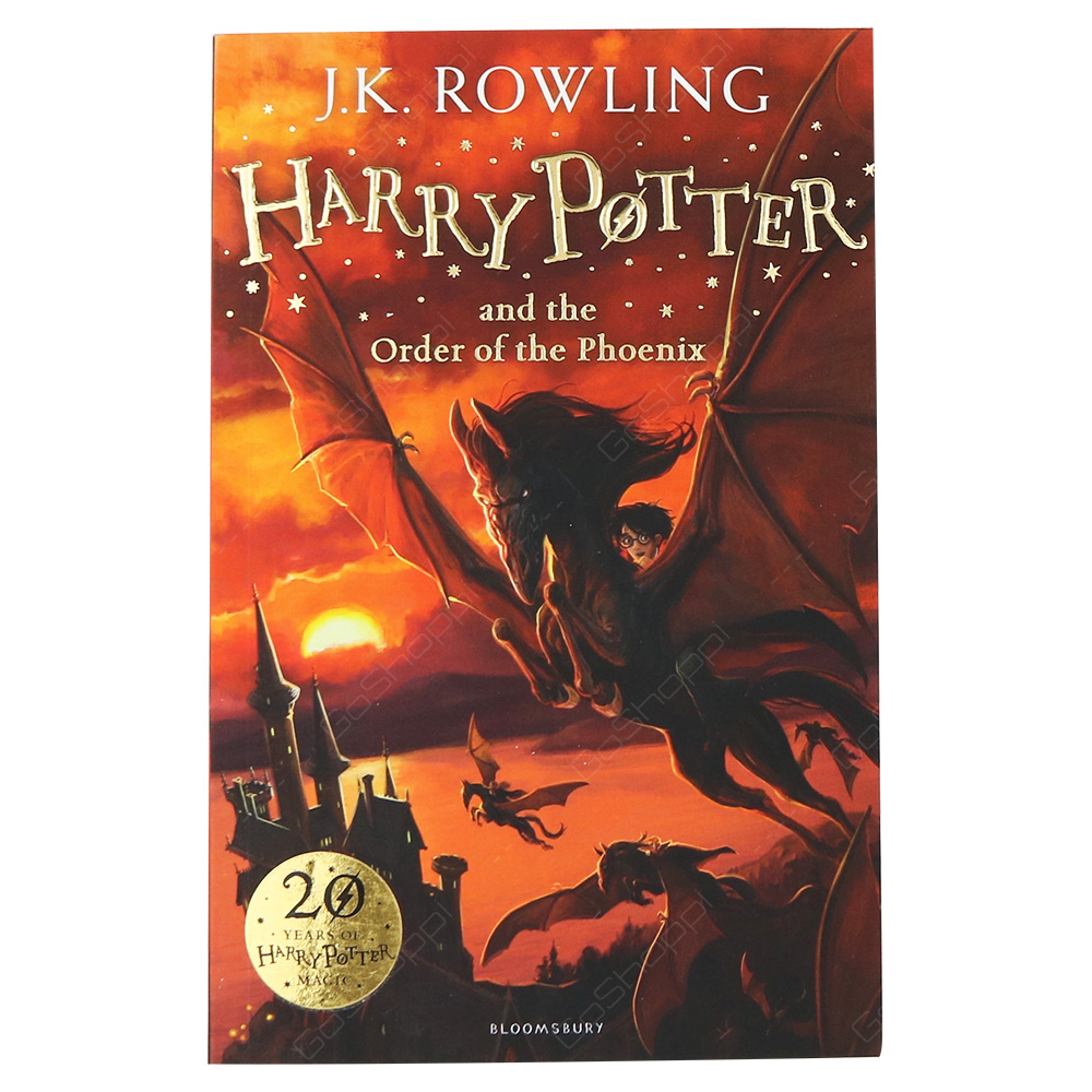 Harry Potter And The Order Of The Phoenix By J K Rowling