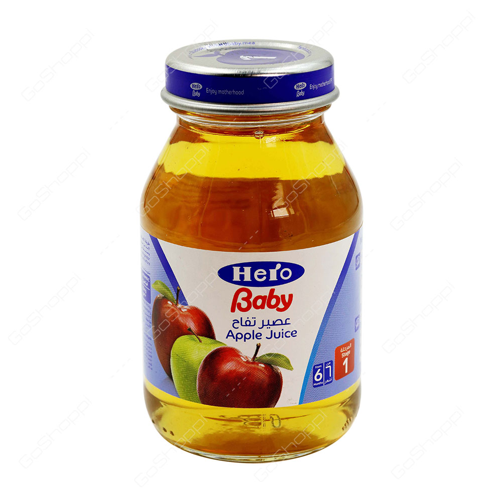 how to make apple juice for baby