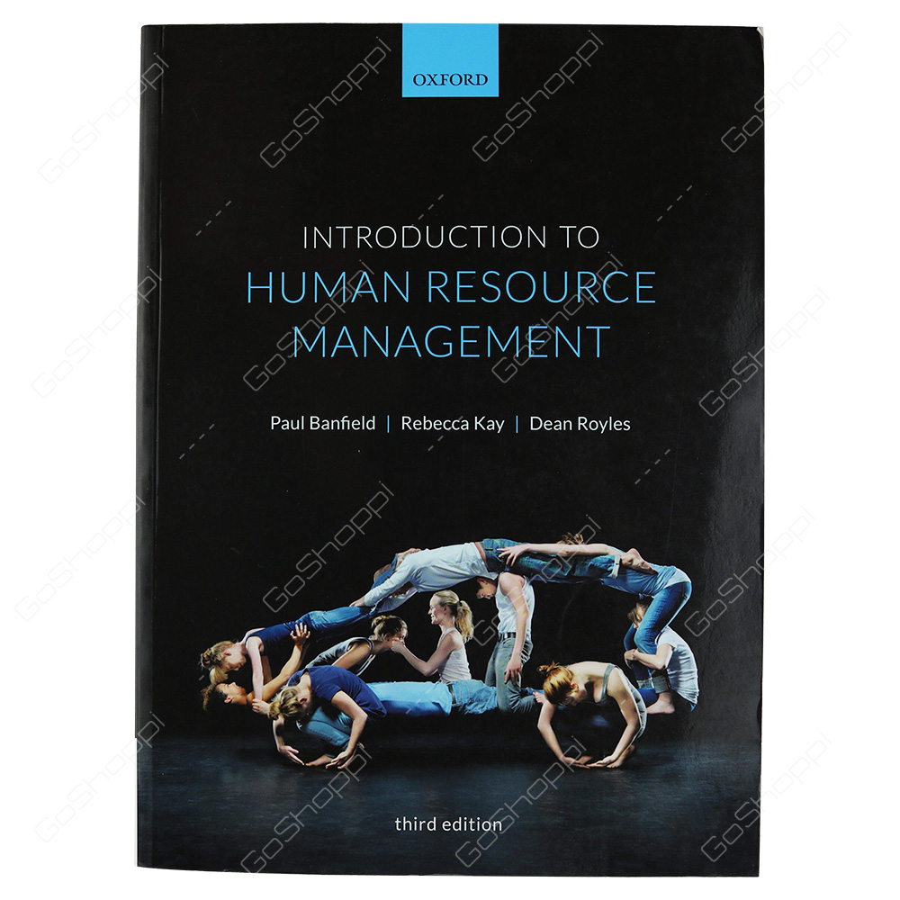 Introduction To Human Resource Management 3rd Edition By Paul Banfield
