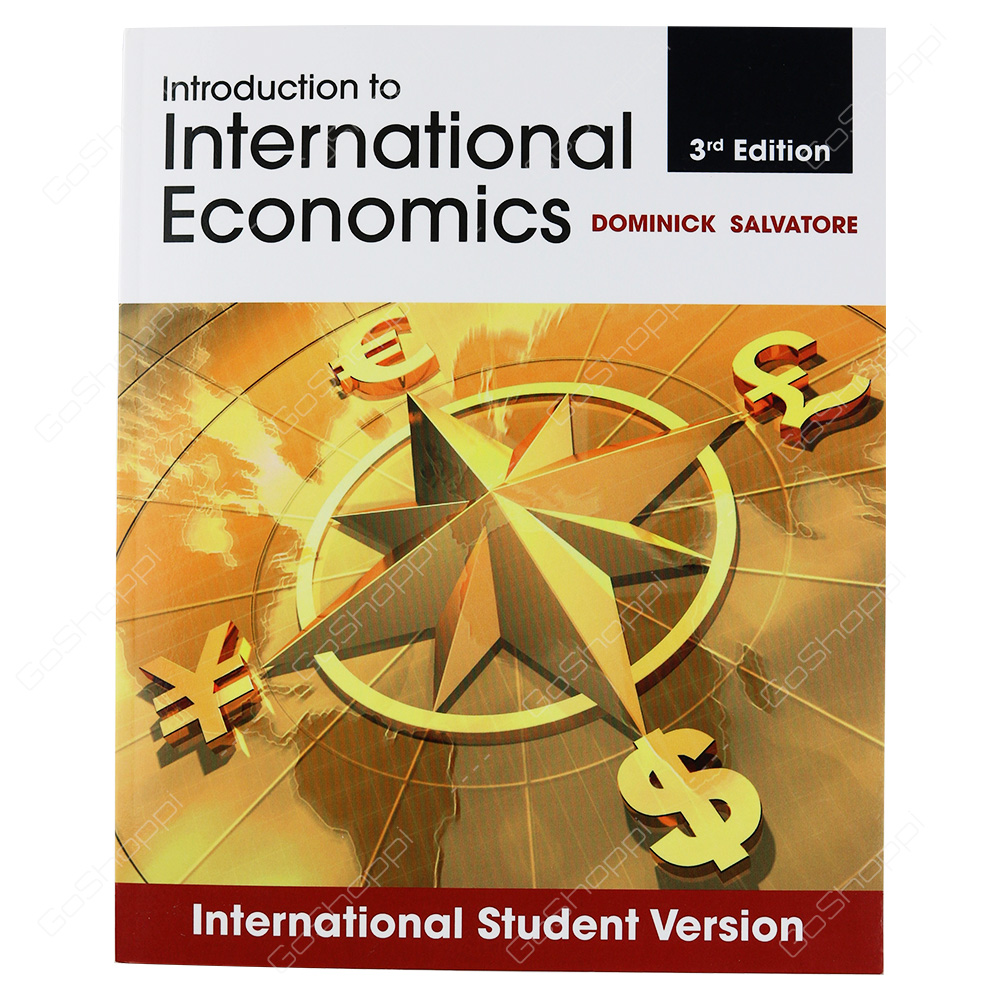 Introduction To International Economics By Dominick Salvatore