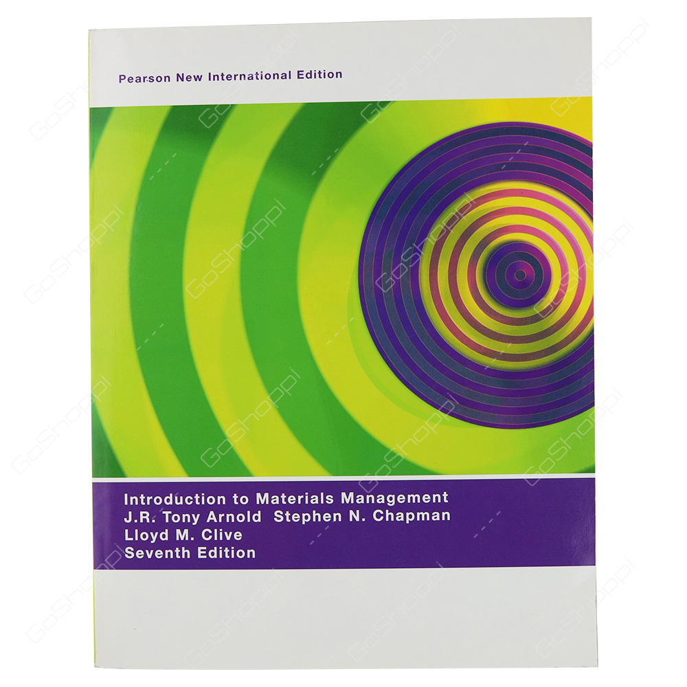 Introduction To Materials Management Pearson New International Edition By J. R.Tony Arnold