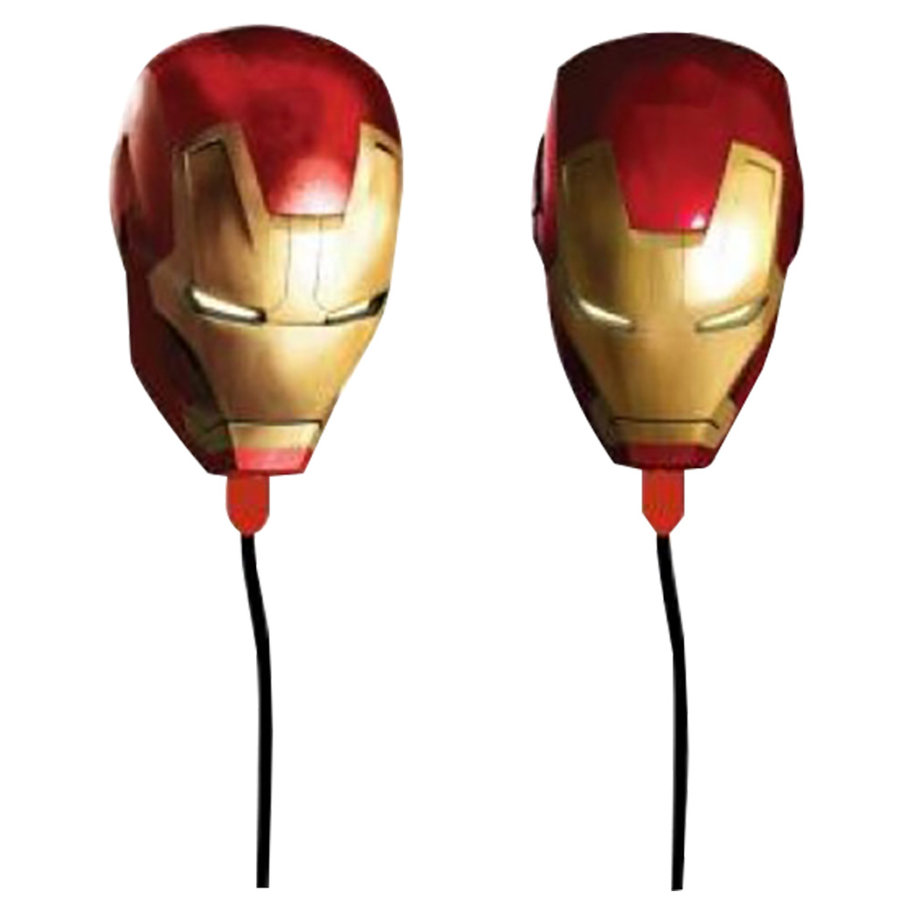 Iron Man Moulded Earbuds - 11475