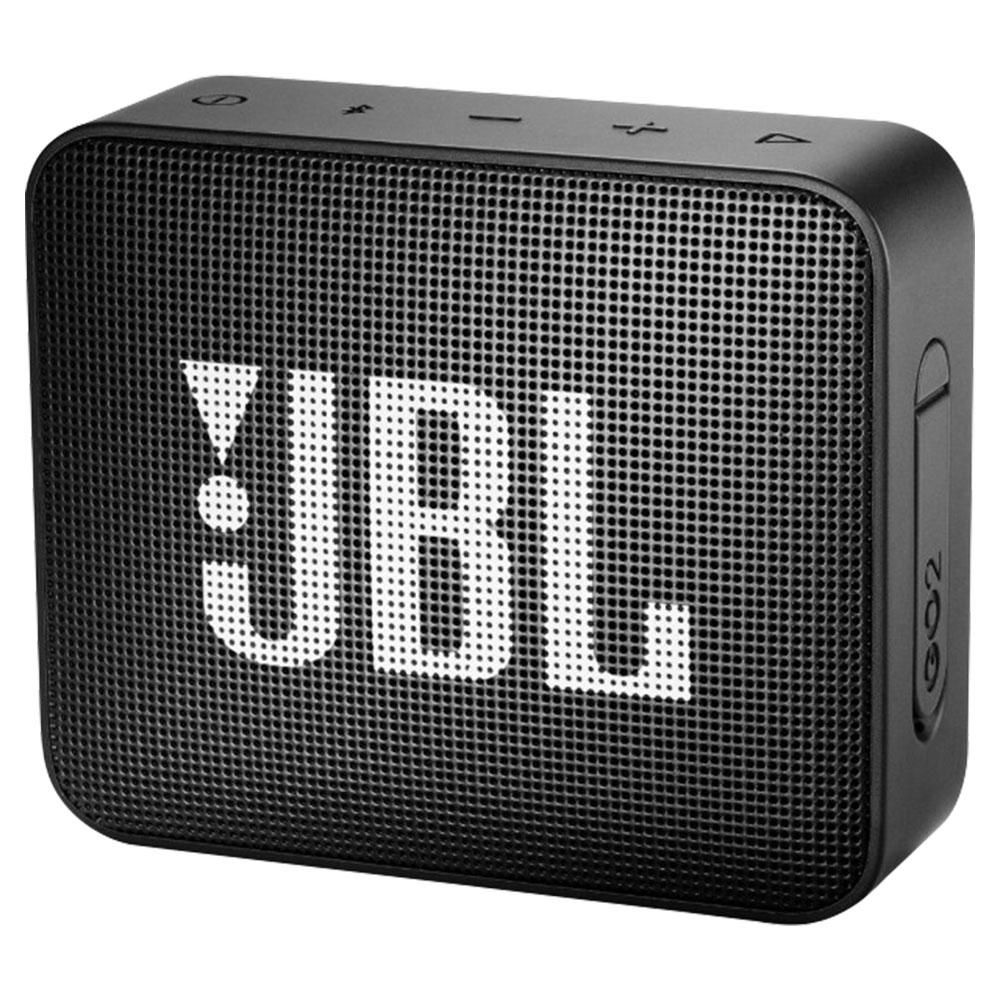 JBL Go 2 Mini Portable Bluetooth Speaker - Black - JBLGO2BLK