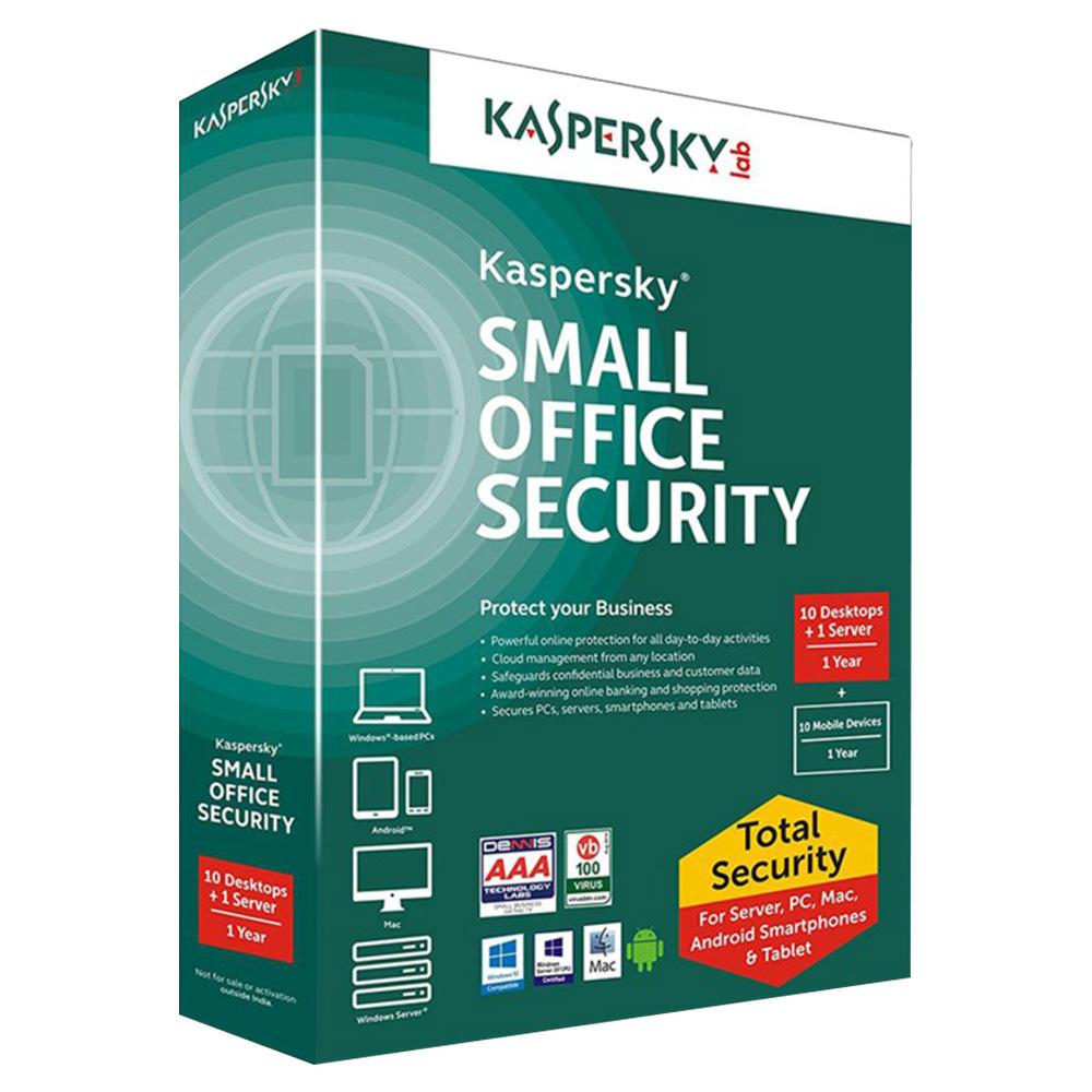 Kaspersky Small Office Security V4 10+1 User - KSOS4RT