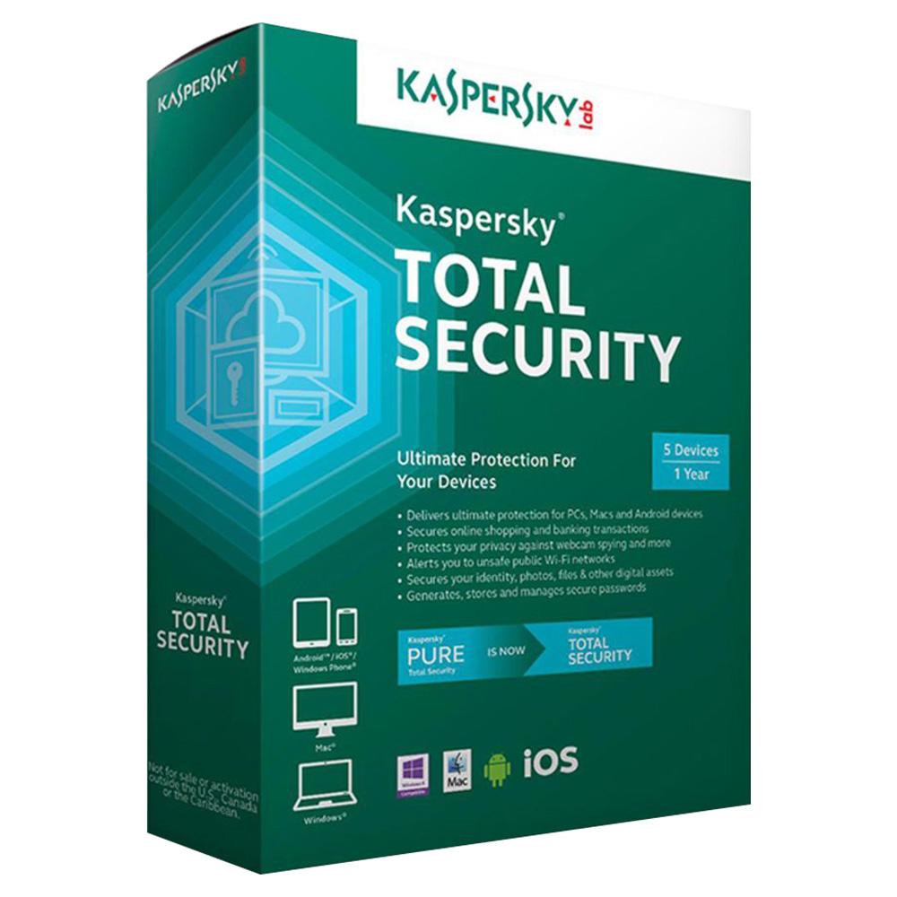 Kaspersky Total Security - 5 User KTSMD5D