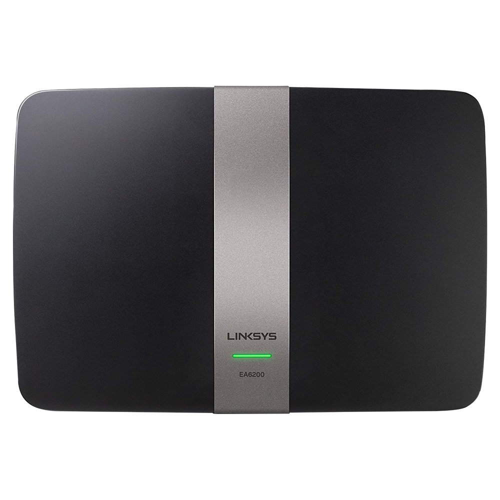Linksys EA6200 Dual Band AC900 Smart Wi-Fi Router with Gigabit Ethernet and USB 3.0
