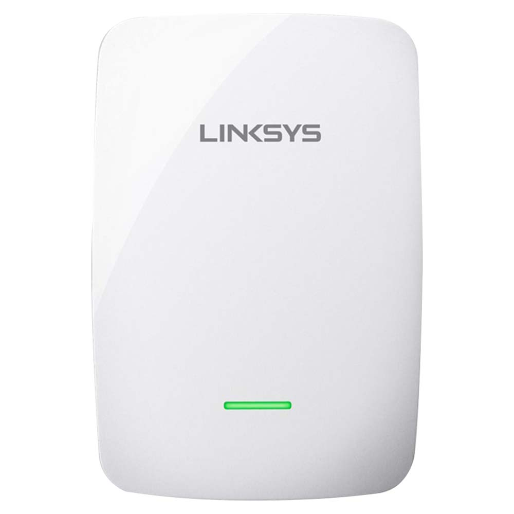 Linksys N600 Dual Band Wireless Range Extender 600 Mbps - White - RE4100W-ME