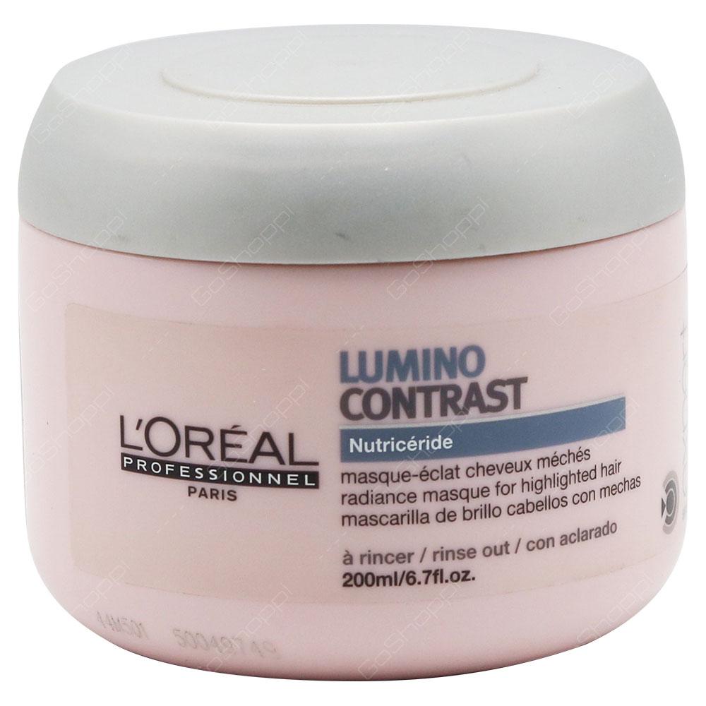 Loreal Professionnel Lumino Contrast Radiance Masque 200ml
