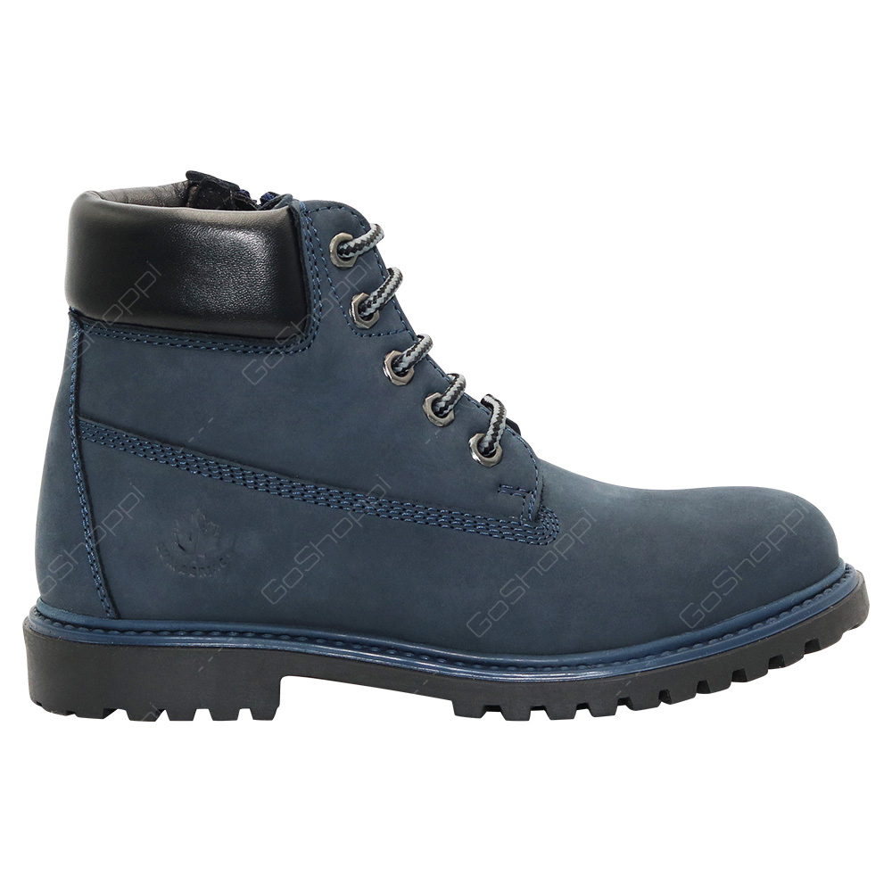 4b6d6a5cfde6 Lumberjack River Ankle Boots For Boys - Navy Blue - Black - SB00101-011-