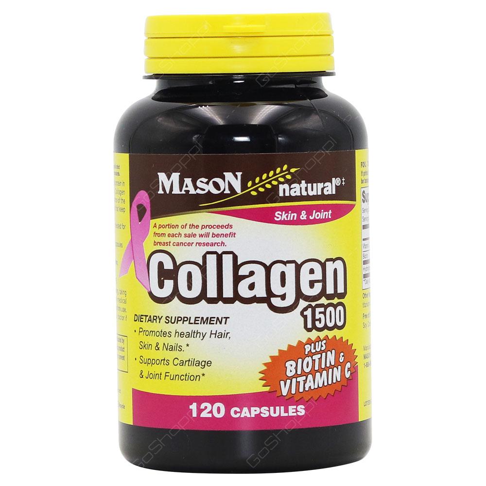 Mason Natural Collagen 1500 Capsules 120Capsules