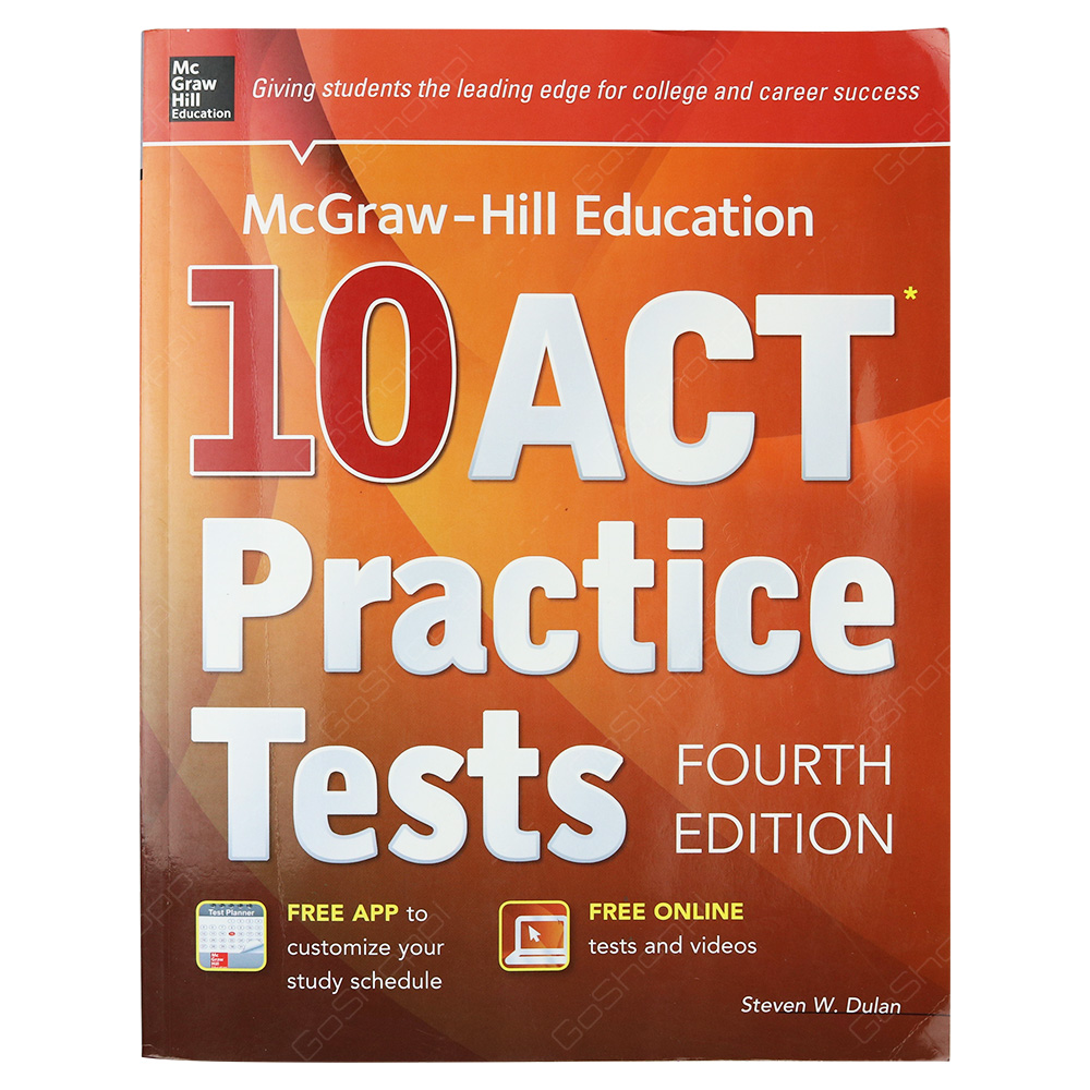 McGraw-Hill Education 10 ACT Practice Tests Fourth Edition
