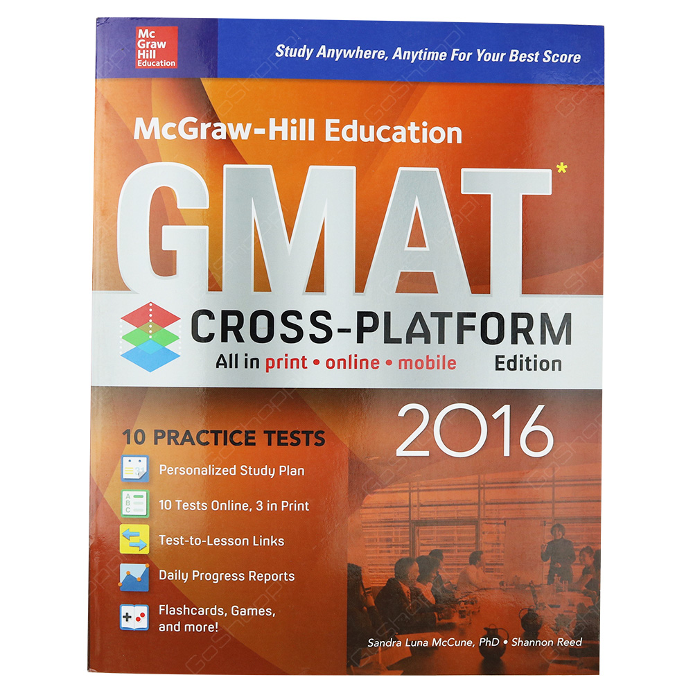 McGraw-Hill Education GMAT 2016 Cross-Platform Edition