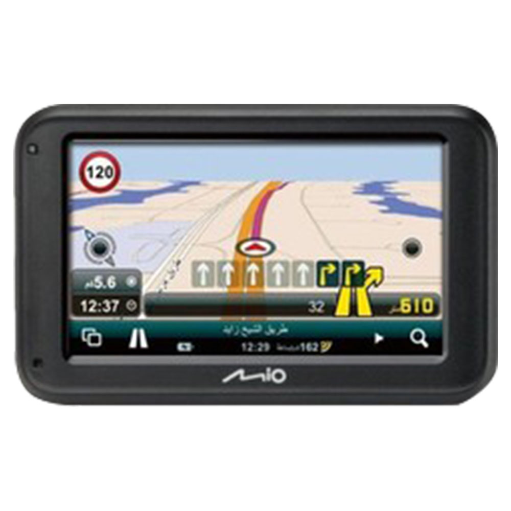 Mio GPS Classic Built-In GCC, Jordan, Lebanon, Egypt And Morocco Maps