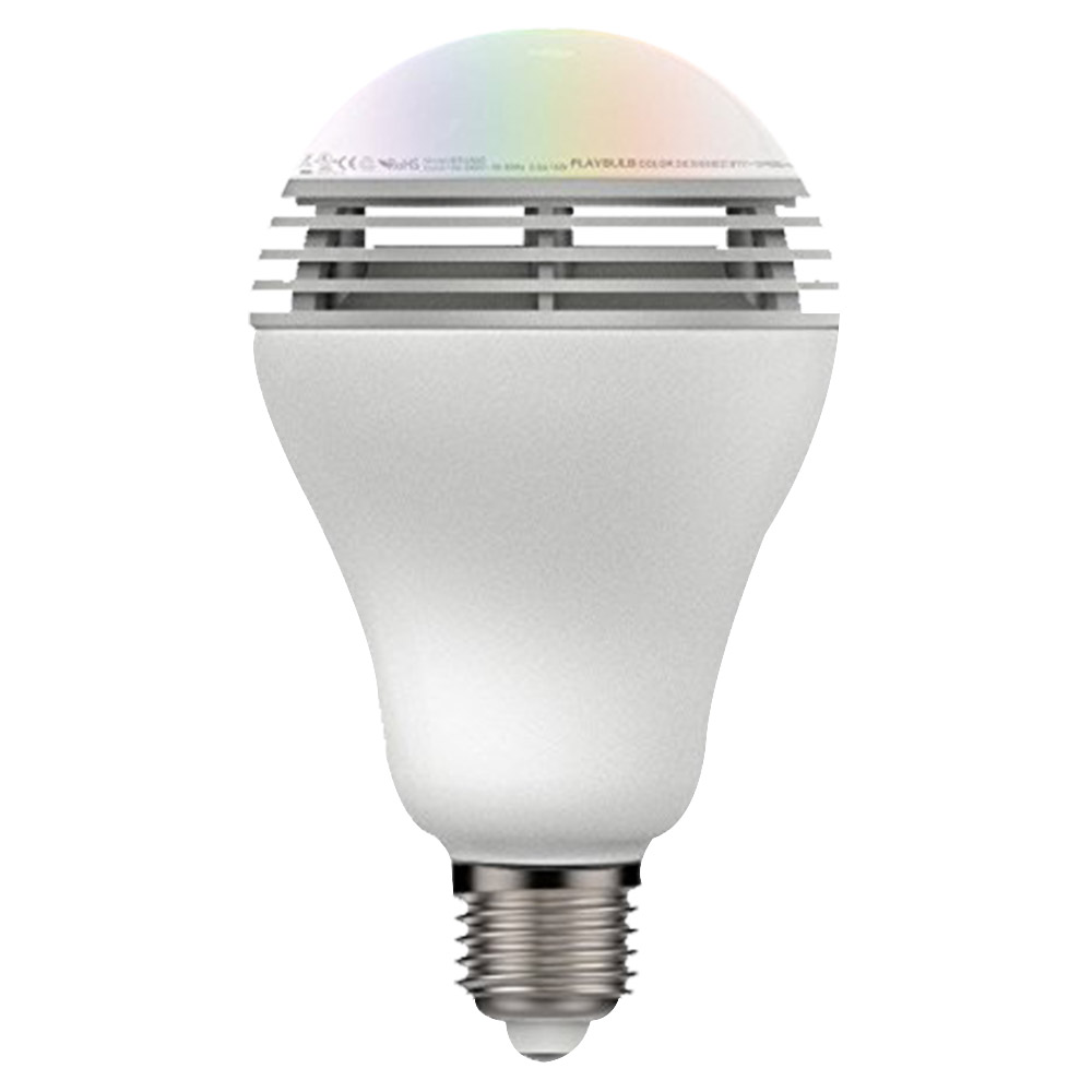 Mipow Playbulb App Controlled LED RGB Color Light Blub With Built In Speaker - BTL-100C