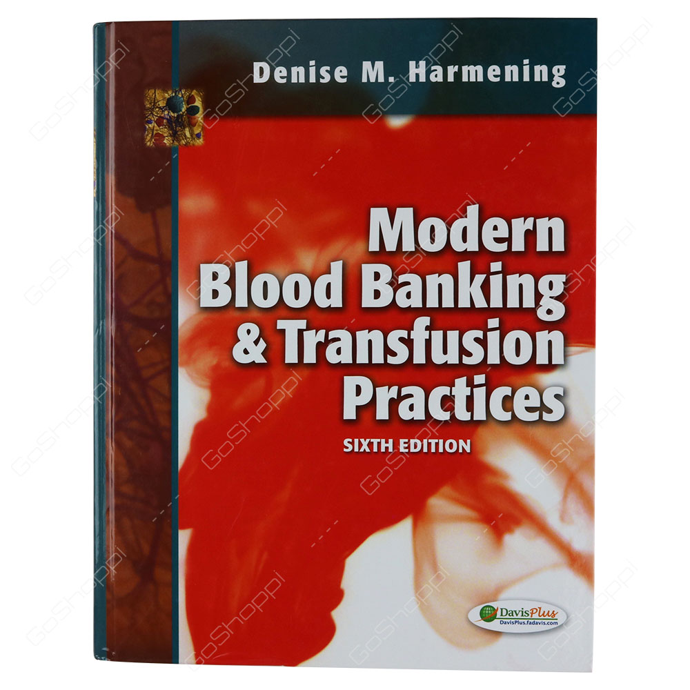 Of Harmening Blood Bank Book