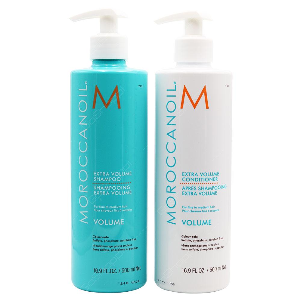 Moroccanoil Extra Volume Shampoo & Conditioner 2X500ml
