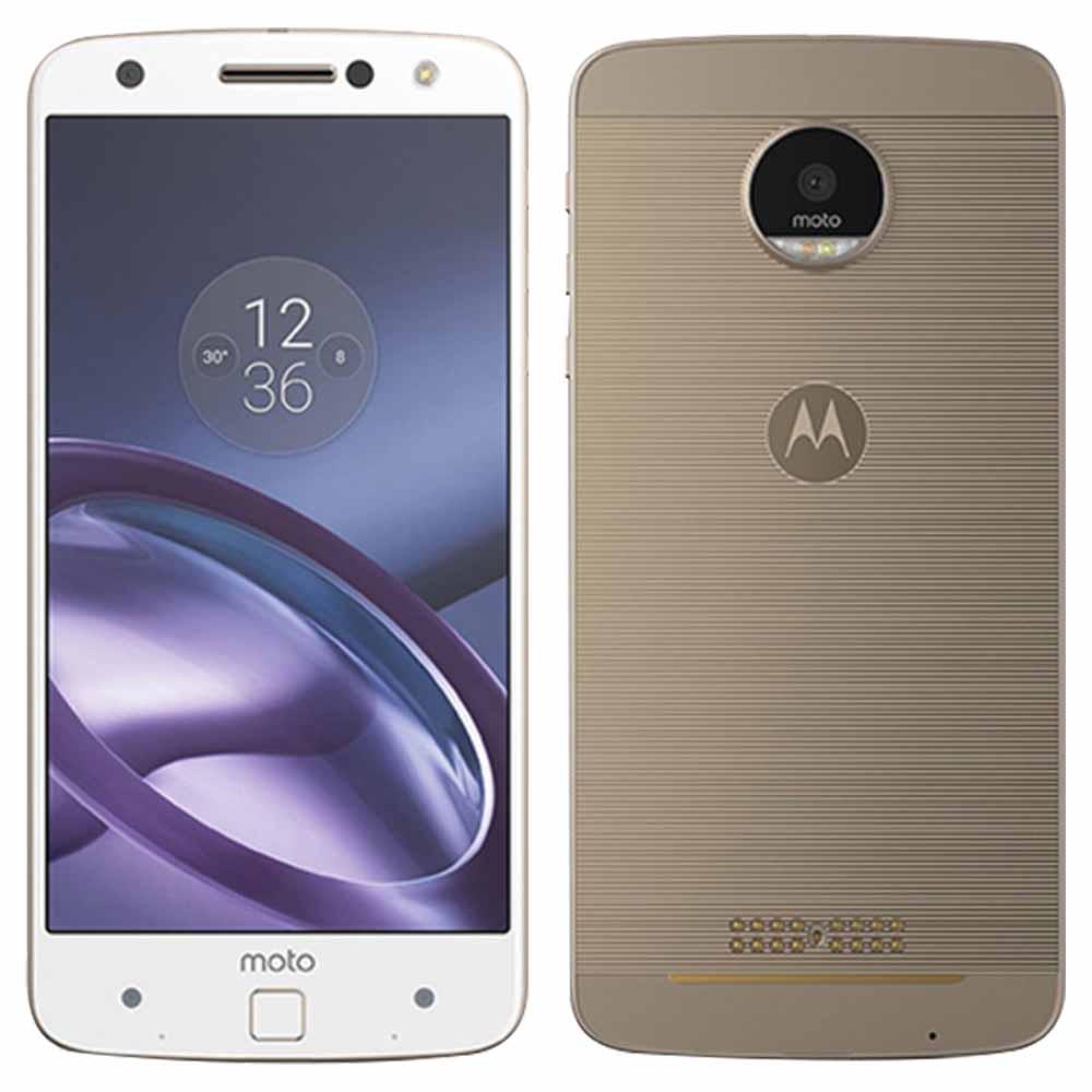 Motorola Moto Z XT1650 4G LTE 4GB RAM - White With Free JBL SoundBoost Speaker