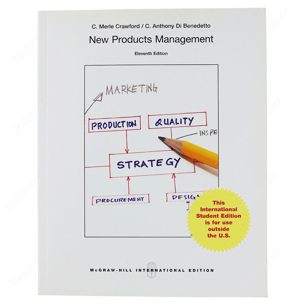 New Products Management International Edition By C.Merle Crawford