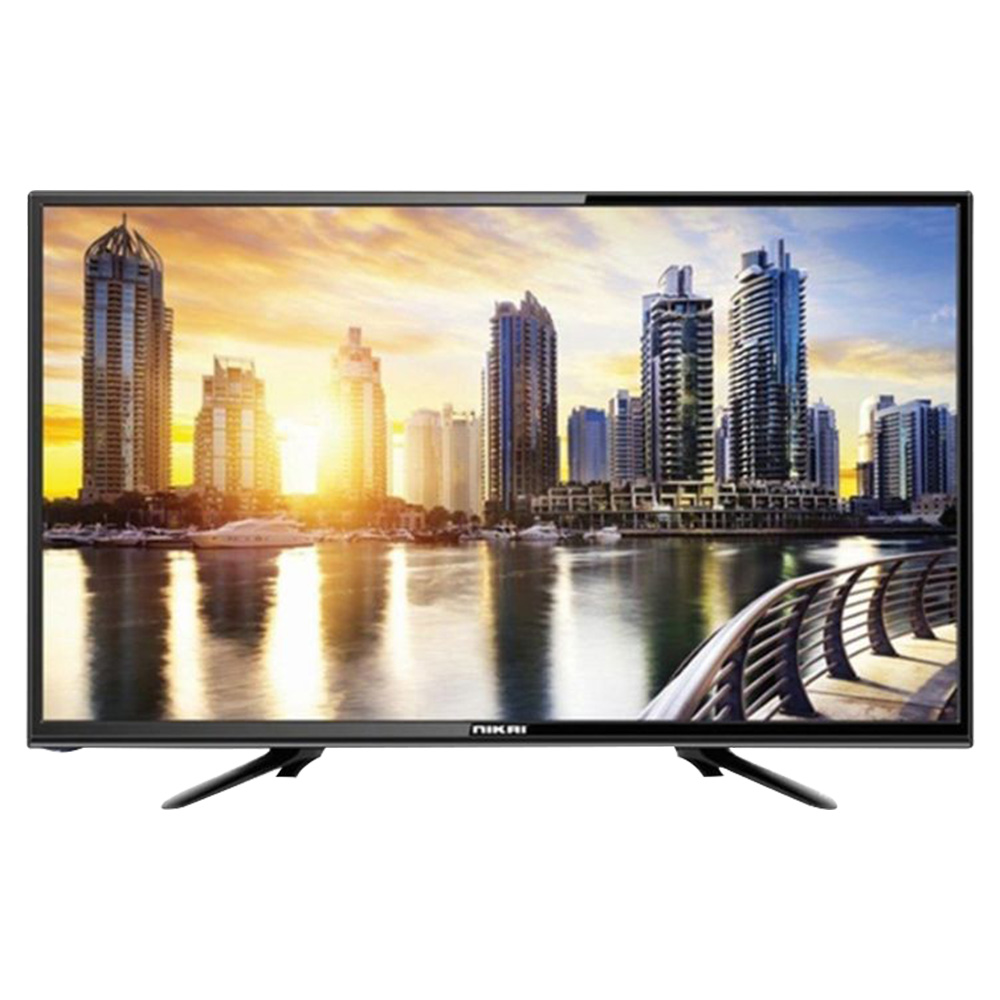 Nikai 43 Inch Smart LED TV NTV43SLED - Black