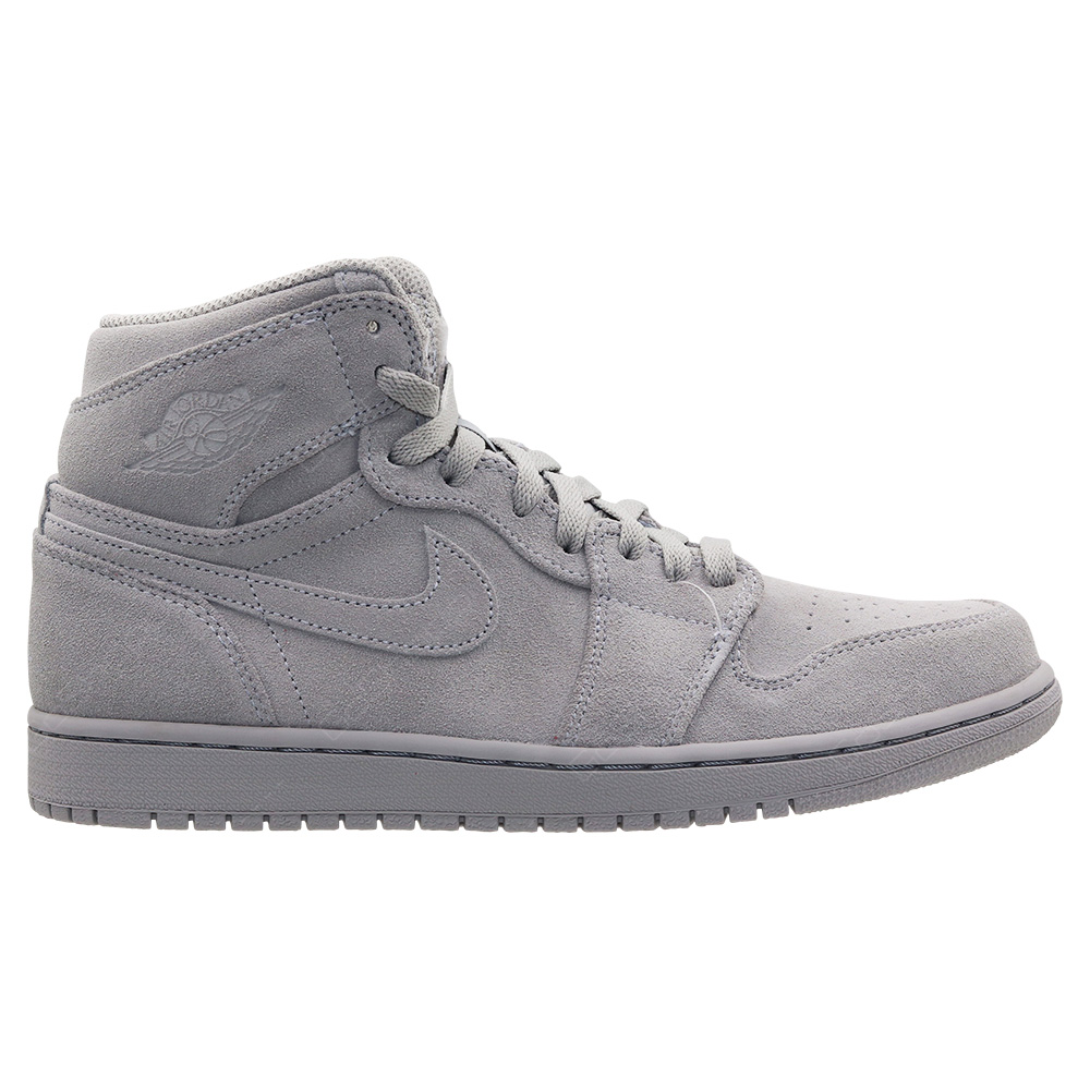 100% genuine fantastic savings pretty nice Nike Air Jordan 1 Retro High Basketball Shoes For Men - Wolf ...
