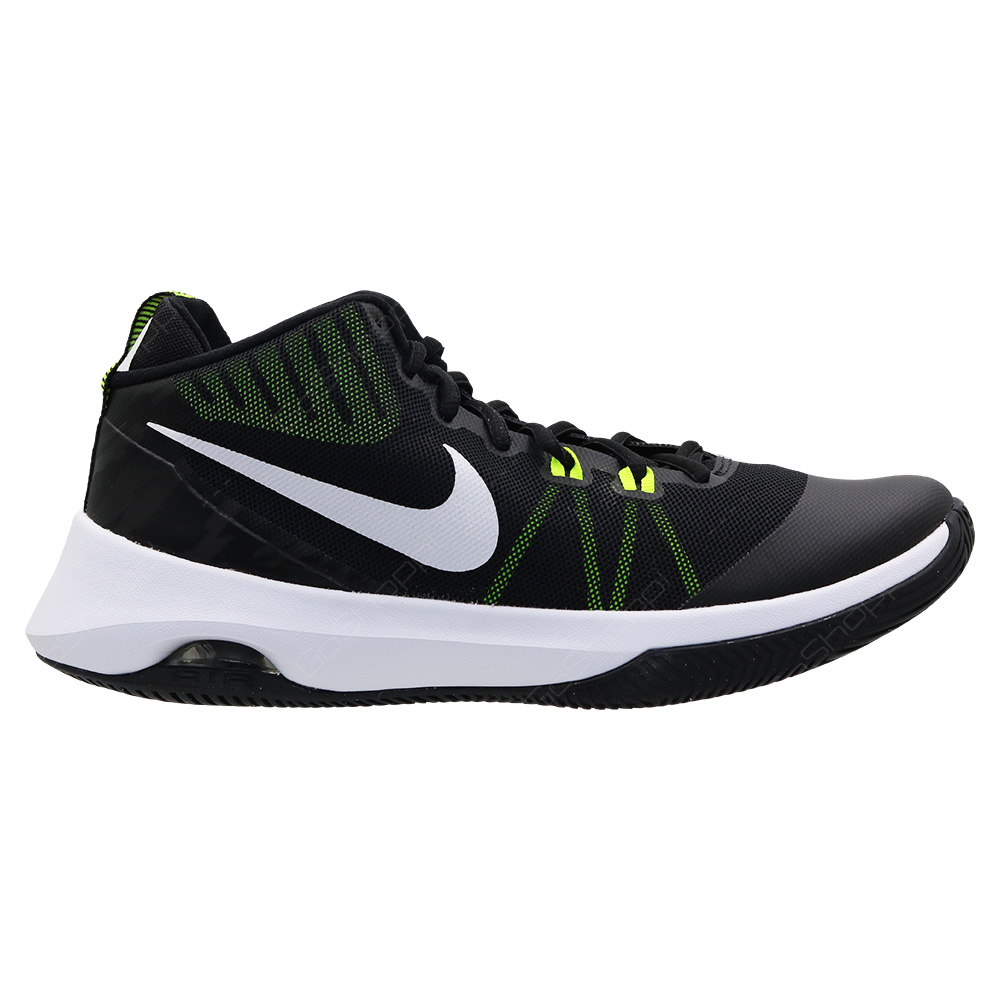 Nike Air Versitile Basketball Shoes For Men - Black - White - Volt - 852431- a2037bbc5