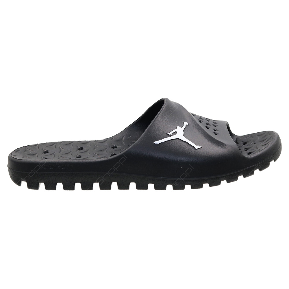 f696ad2e908f1 Nike Jordan Super Fly Team Slide For Men - Black - White-Black - 716985
