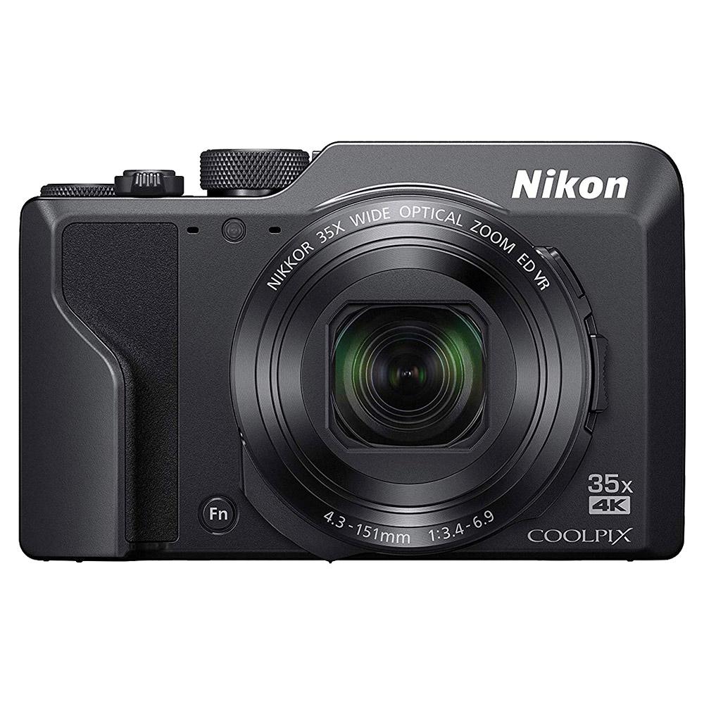 Nikon Coolpix A1000 16MP 35X Optical Zoom 4K WiFi - Black - COOLPIXA1000BK