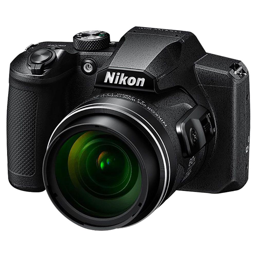 Nikon Coolpix B600 16MP 60X Optical Zoom Full HD Digital Camera - Black - COOLPIXB600BK